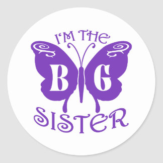 Grote Zuster Ronde Sticker