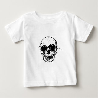 grotere schedel baby t shirts