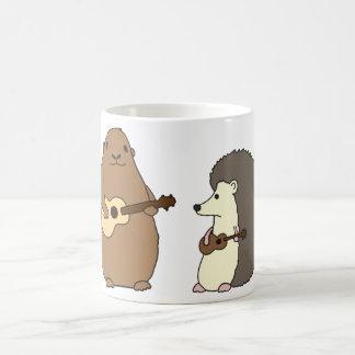 Groundhog, Egel, en de Mok van Ukeleles