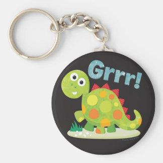 Grrr! Dinosaurus Keychain Sleutelhanger