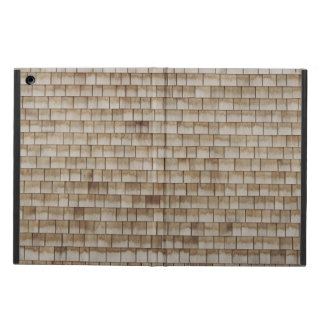 grunge beige houten muurtextuur iPad air hoesje
