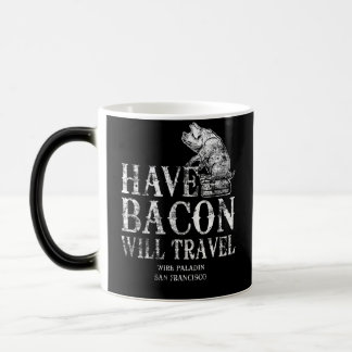 Grunge heeft Bacon zal reizen Magische Mok