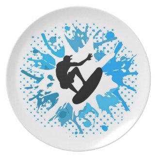 Grunge surfer party borden