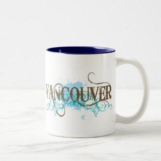 Grunge Vancouver Tweekleurige Koffiemok