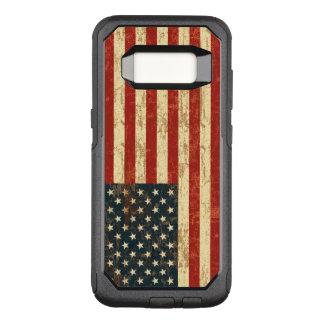 Grungy Amerikaanse Vlag de V.S. OtterBox Commuter Samsung Galaxy S8 Hoesje