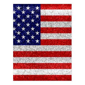 Grungy Vlag van de V.S. Briefkaart
