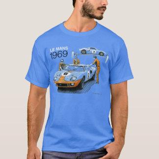 GT40s in Le Mans 1969 T Shirt