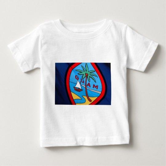 Guam flag baby t shirts