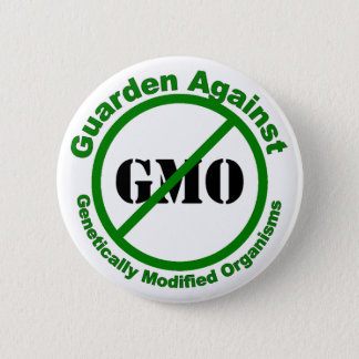 Guarden tegen GMO Ronde Button 5,7 Cm