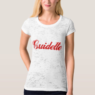 Guidette Italiaanse Guido Funny Parody T Shirt