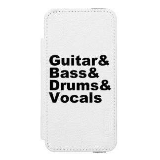 Guitar&Bass&Drums&Vocals (blk)
