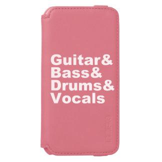 Guitar&Bass&Drums&Vocals (wht)