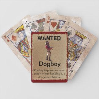 Gunslingers van het Westen - Speelkaarten Dogboy Pak Kaarten