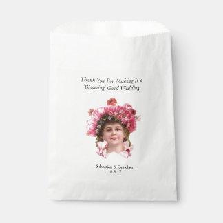 GUNST van het HUWELIJK van het Meisje van de bloem Bedankzakjes 0