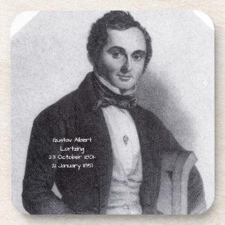 Gustav Albert Lortzing Drankjes Onderzetter