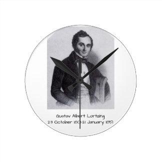 Gustav Albert Lortzing Ronde Klok