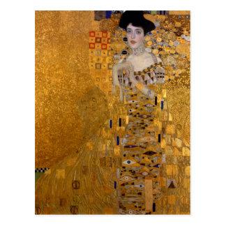 Gustav Klimt - Adele Bloch-Bauer I. Briefkaart