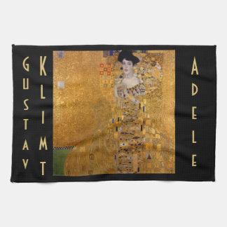 Gustav Klimt, Adele, Jugendstil, deco, goud, Handdoeken
