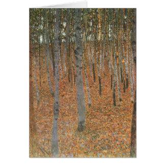 Gustav Klimt- Beech Grove I Kaart