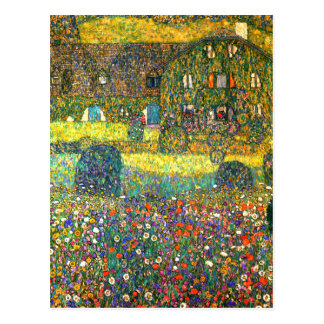 Gustav Klimt: Buitenhuis in Attersee Briefkaart
