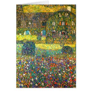 Gustav Klimt: Buitenhuis in Attersee Kaart