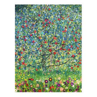 Gustav Klimt: De Boom van Apple Briefkaart