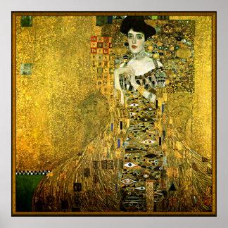 Gustav Klimt de Gouden Dame Poster