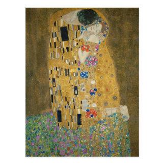 Gustav Klimt - de Kus Briefkaart