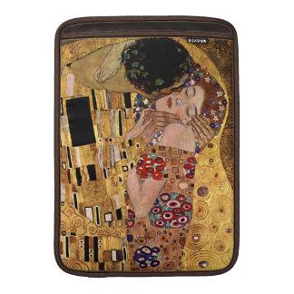 Gustav Klimt: De kus (Detail) MacBook Air Beschermhoes