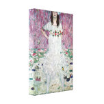 Gustav Klimt - Eugenia Primavesi Gallerij Wrap Canvas