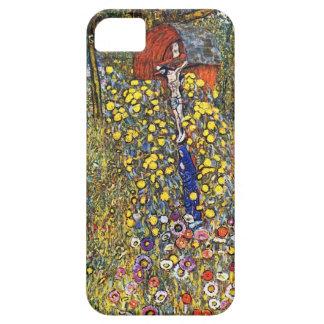 Gustav Klimt Farm Garden met Kruisbeeld Barely There iPhone 5 Hoesje