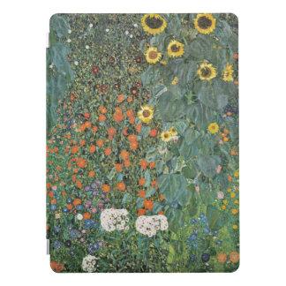 Gustav Klimt Farm Garden met Zonnebloemen iPad Pro Cover