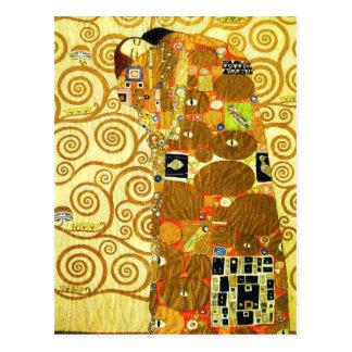 Gustav Klimt Fulfillment Postcard Briefkaart