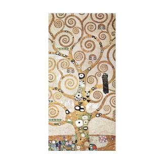 Gustav Klimt Golden Tree van het Leven met Vogel Canvas Afdrukken