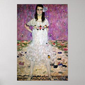 Gustav Klimt Mada Primavesi Poster