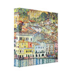 Gustav Klimt - Malcena in Gardasee Gallerij Wrap Canvas