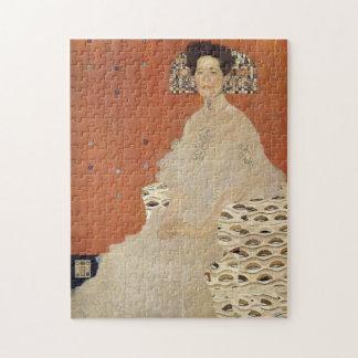 GUSTAV KLIMT - Portret van Fritza Riedler 1906 Foto Puzzels