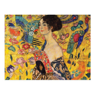 Gustav Klimt Postcard Briefkaart