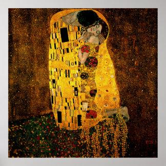 Gustav Klimt Poster The Kiss