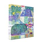 Gustav Klimt - St Wolfgang Church Canvas Afdrukken