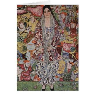 Gustav Klimt Wenskaart