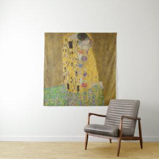 Gustav Klimt Wijnoogst GalleryHD de van de Kus Wandkleed