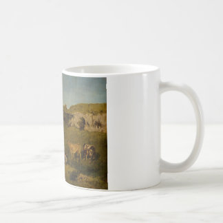 Gustave Courbet - Jonge Dames van het Dorp Koffiemok