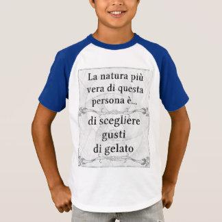 Gusti van naturapiù Vera gelato van La scegliere T Shirt