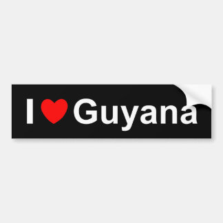 Guyana Bumpersticker