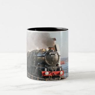 GWR Koning Edward 1 Motor van de Stoom Tweekleurige Koffiemok