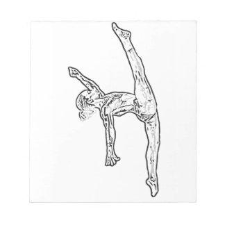 Gymnastiek 2 notitieblok