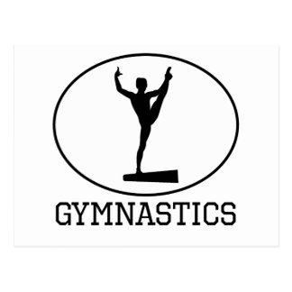Gymnastiek Briefkaart