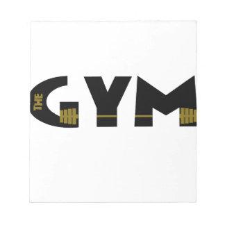 Gymnastiek en geschiktheid notitieblok