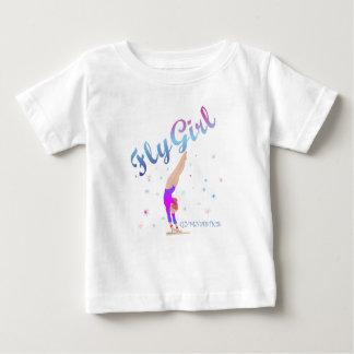 Gymnastiek - het T-shirt van het Meisje van de